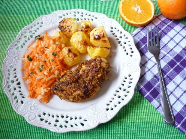 Filet z kurczaka w soku z pomarańczy