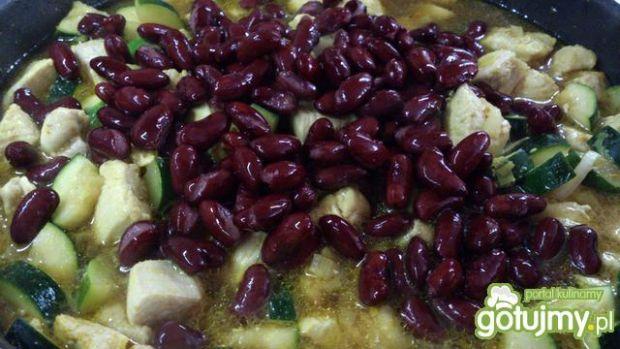Filet z kurczaka w sosie na ostro