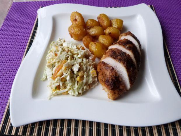 Filet z kurczaka z imbirem i przyprawą do gyrosa