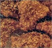Filety z drobiu w orzechach