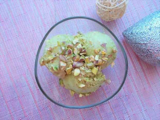 Fit lody pistacjowo-owocowe