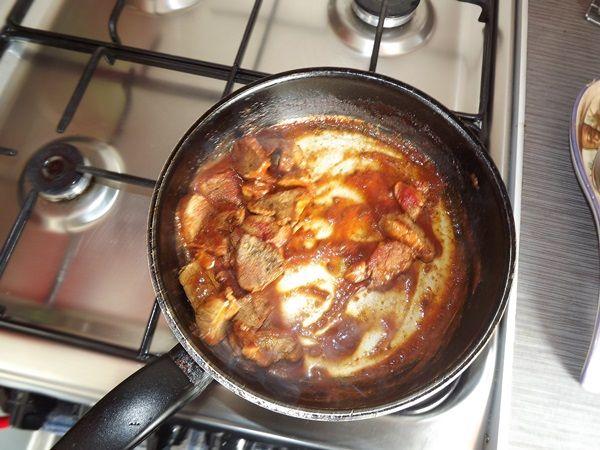 fit makaron z polędwiczką w pomidorach