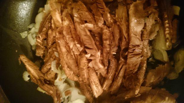 Flaczki z kani (z grzybów)