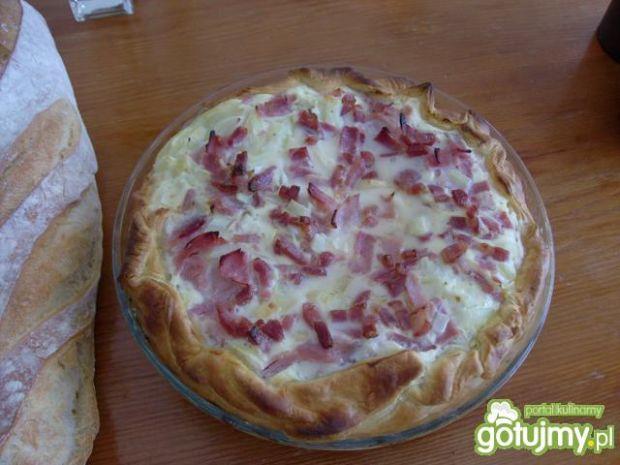 Flammenkuche- tarta alzacka
