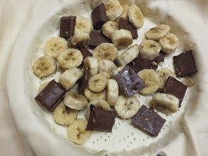 Francuska tarta bananowo-czekoladowa