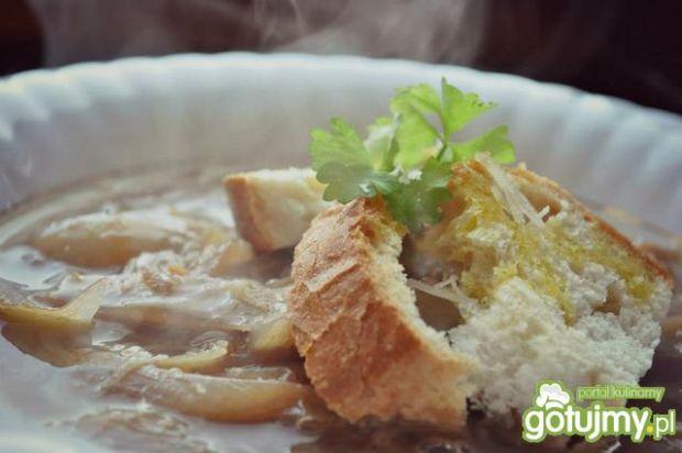 Francuska zupa cebulowa 2