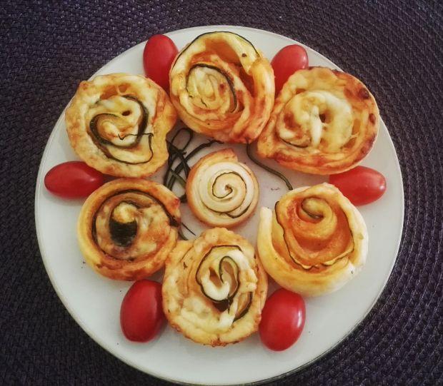 Francuskie ślimaczki z cukinią