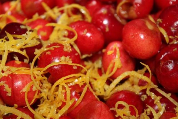 Frużelina czereśniowa ze stewią