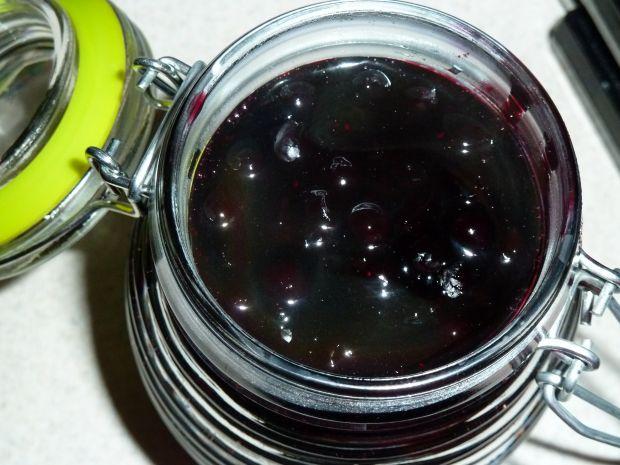 Frużelina jagodowa, czyli jagody w żelu