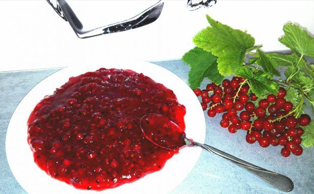 Frużelina z czerwonej porzeczki