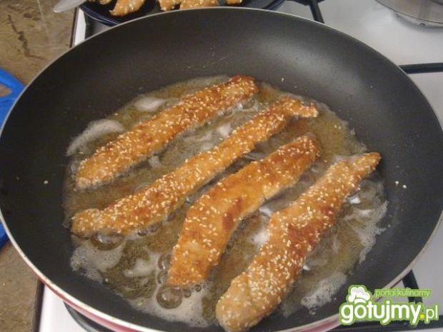 Frytki z Kurczaka w Panierce