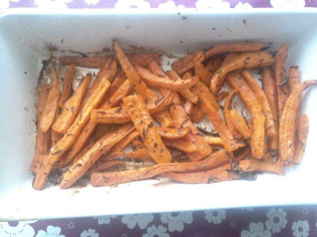 Frytki z marchewki