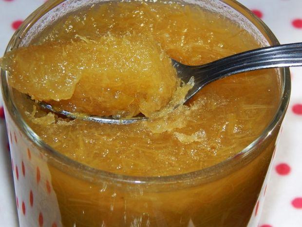Galaretka rabarbarowa na soku jabłkowym