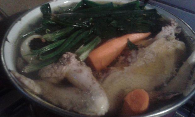 Galaretka z kurczaka z warzywami