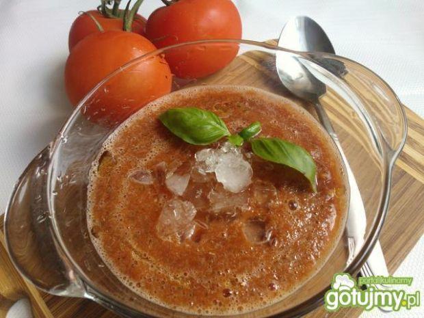 Gazpacho - włoski chłodnik z pomidorów