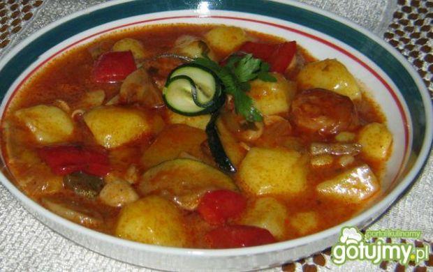 Gęsta zupka z ziemniakami