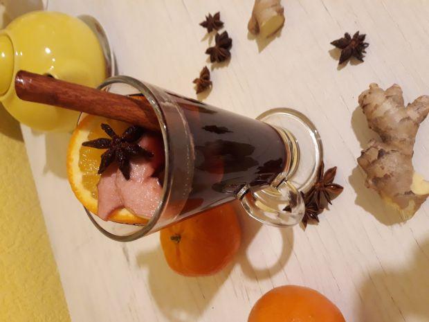Glogg- grzane wino z owocami