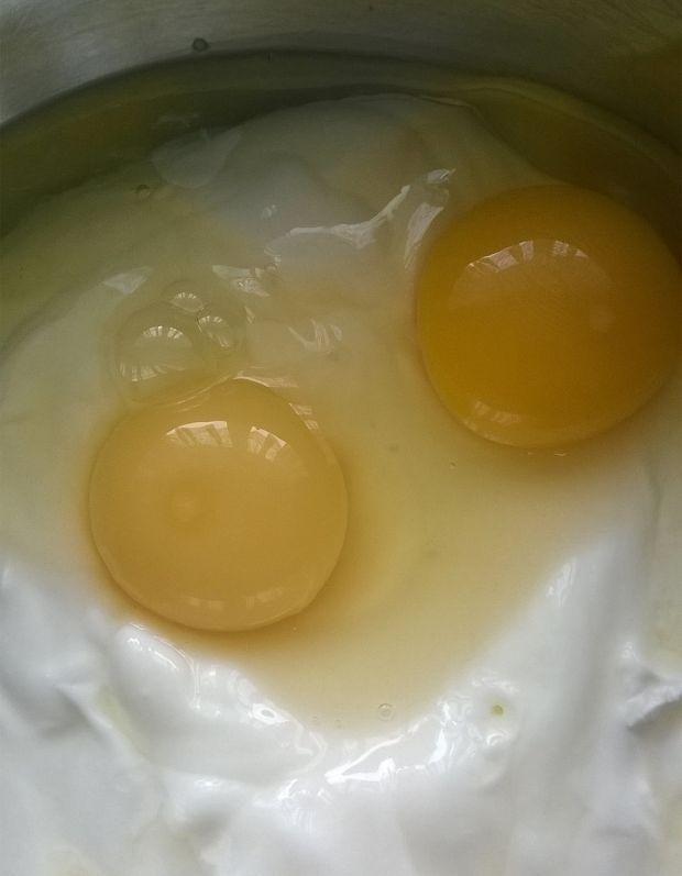 Gofry orkiszowo  - jogurtowe
