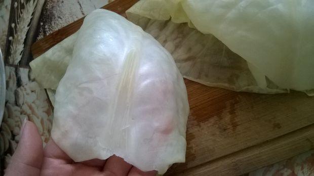 Gołąbki z mięsem i kaszą pęczak