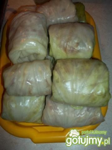 Gołąbki z mięsem mielonym i ryżem