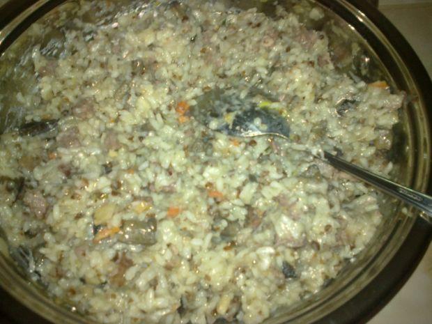 Gołabki z ryżem i kaszą