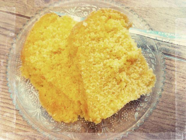 Gotowana babka cytrynowa