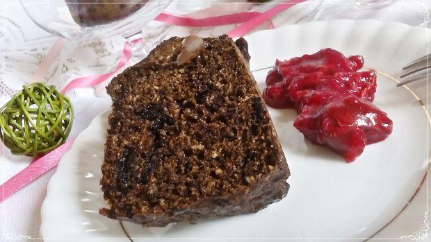 Gotowane fit muffinki kawowe z czekoladą