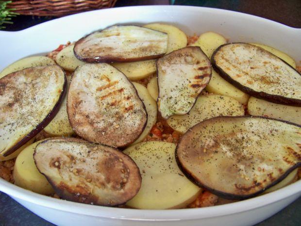 Grecka mussaka z ziemniakami