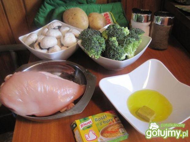 Grillowana pierś z kurczaka wg Piotrka