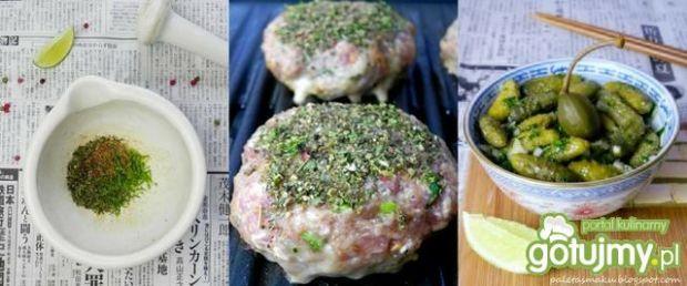 Grillowane aromatyczne burgery z kiwi