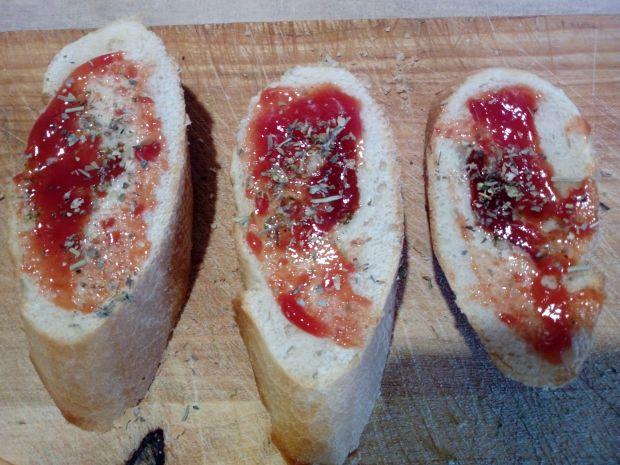 Grillowane kanapki z mozzarellą