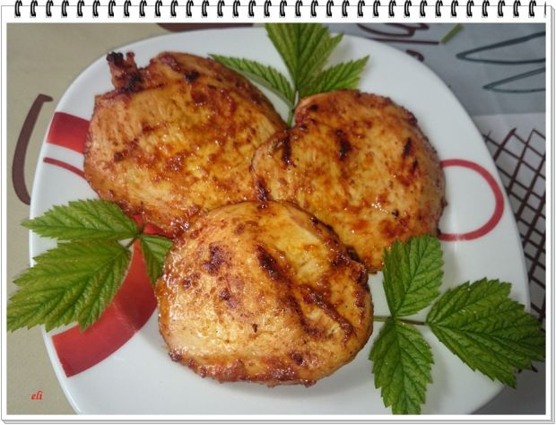 Grillowane keczupowe piersi kurczaka Eli