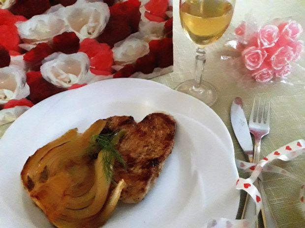Grillowany indyk z fenkułem - kolacja dla dwojga
