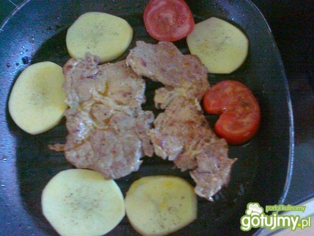 Grillowany Karczek z warzywami