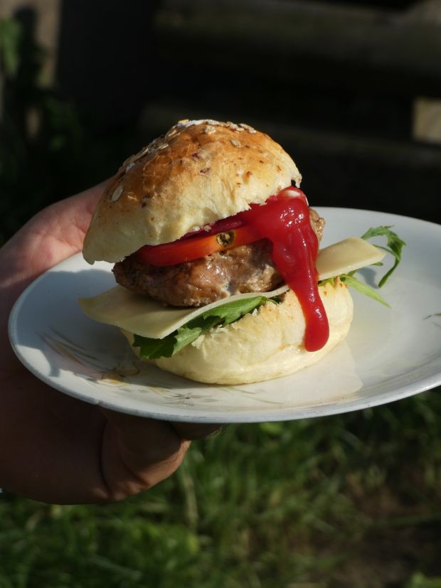 Grilowany hamburger