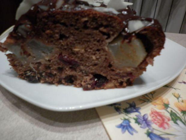 Gruszkowe ciasto z bakaliami