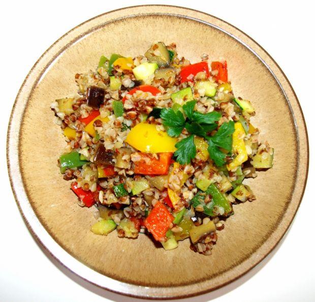Gryczana z warzywami