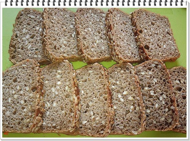 Grzanki serowe Eli z chleba słonecznikowego