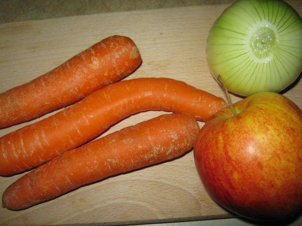 Grzyby w panierce z warzywami