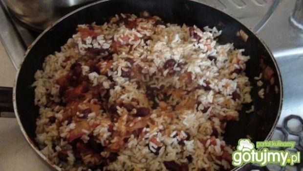 Gulasz warzywny ala mexicana z ryżem