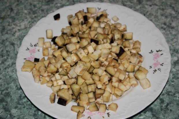 Gulasz wegetariański z bakłażanem