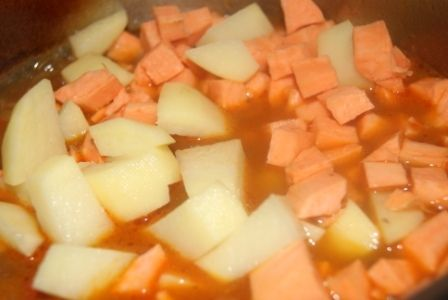 Gulasz z batatami