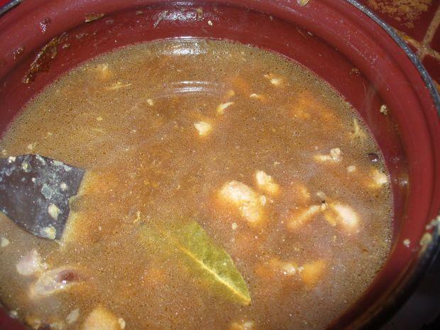 Gulasz z indyka z nutką papryki ostrej