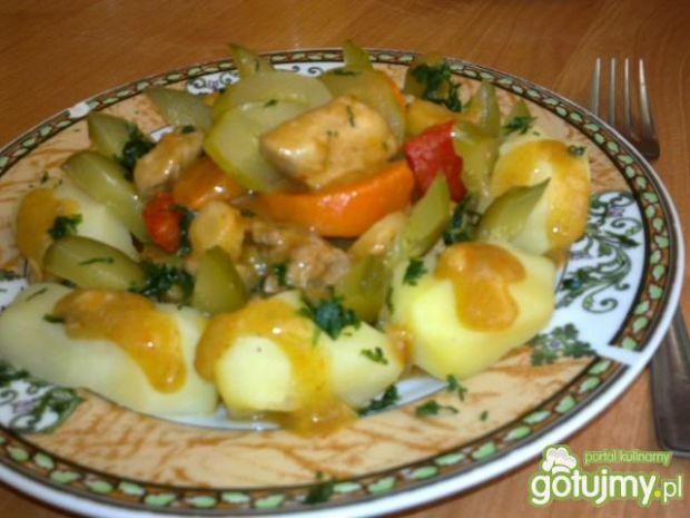 Gulasz z warzywami