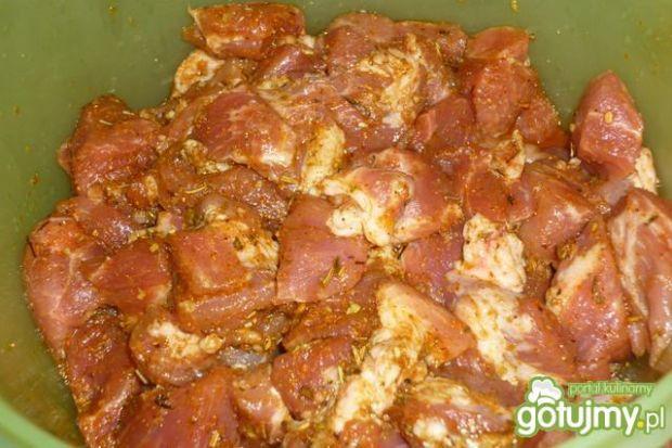 Gyros wieprzowy z sosem czosnkowym