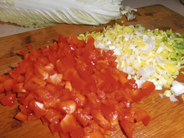 Gyros z sosem czosnkowym