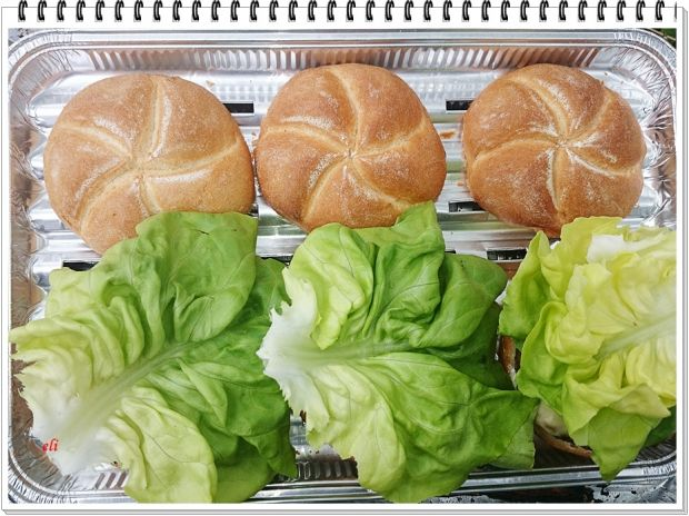 Hamburger wołowy Eli z grilla