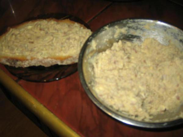 Hekele    (pasta śledziowa)