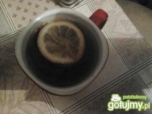 Herbatka zimowa z imbirem