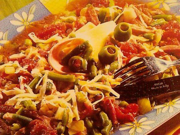 Hiszpańska potrawka z warzywami